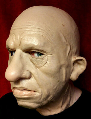 Realistic Male Halloween Mask Old Man Disguise Wrong Turn Hillbilly Cannibal