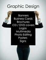 Graphic Design Services + Solutions for Business