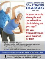 50+ FITNESS CLASSES