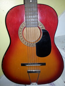 VINTAGE POP CULTURE YOUTH BARCLEY GUITAR