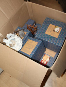 Huge Box stuffed with NEW Christmas Partylite items $ 5 - $ 20