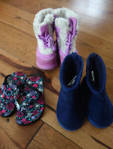 12-18 and 18-24 month box of 60+ items of girls clothing Cambridge Kitchener Area image 10