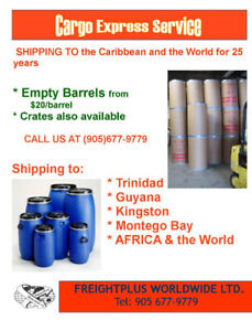 Empty Barrels for sale