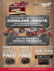 Milwaukee Tools HomeDepot Event!