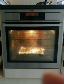 AEG oven - used, but working - removing due to new kitchen