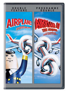 Airplane 1 & 2 The Sequel-2 dvd set-Excellent condition