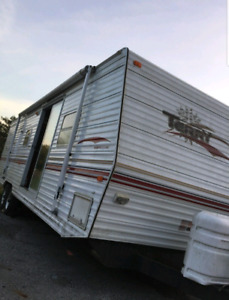 2001 Terry 31ft park model with bunks sleeps 8