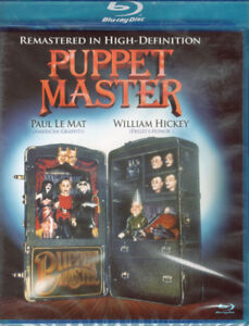Puppet Master Brand New and Sealed Package BluRay