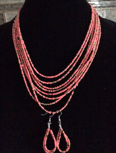 Assorted Necklaces and Earrings