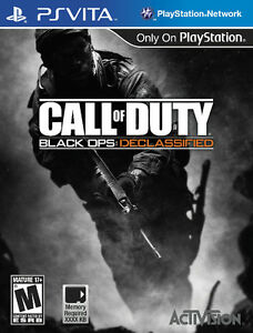 LOOKING FOR CALL OF DUTY DECLASSIFIDE FOR PS VITA