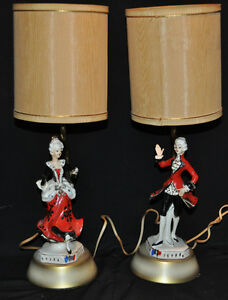 Vintage porcelaine man and lady lamps Kitchener / Waterloo Kitchener Area image 4