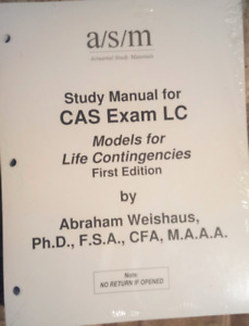 A/S/M Actuarial Study Manual - Exam LC