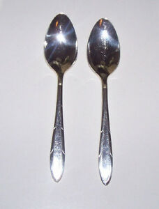 19 Pcs.of Vintage Nobility Silver Plate Flatware Reverie 1937 London Ontario image 2