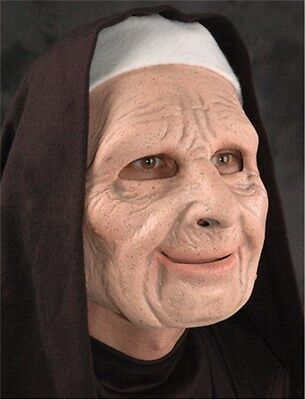 Zagone Halloween Masks (The Town CREEPY Nun Adult Mask, Halloween Accessory, Zagone)