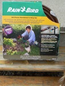 Rain Bird 50 piece drip irrigation kit-new in box!