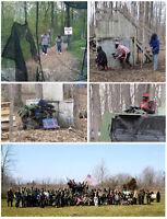 Paintball Tickets - Play for 8 hours in Niagara