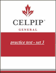 CELPIP-General Practice Tests - Set 3 - NB