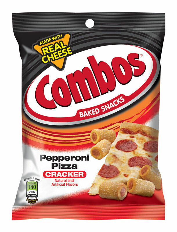 Combos Pprni Pizza 6.3oz, Pack of 12, PartNo 116102, by Ldc Inc (Liberty Dist.)