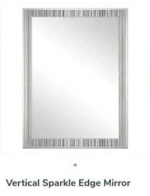 Rectangle mirror from Dunelm 50cm x 70cm