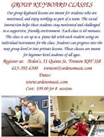 Group Keyboard Lessons (Trenton Location only)