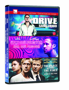 Ryan Gosling DVD Collection Drive Only God Forgives Place Beyond