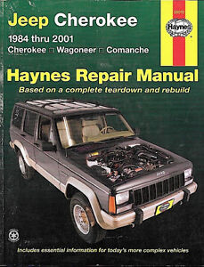 Haynes 1984 thru 2001 Jeep Cherokee Repair Manual