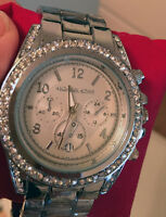 MONTRE POUR FEMME MICHAEL KORS WOMAN WATCH SILVER NEW
