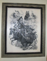 Collectible Mountain Man Print