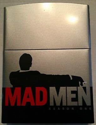 Mad Men Season One DVD Special Zippo Lighter Case Edition Set Mad Men Light