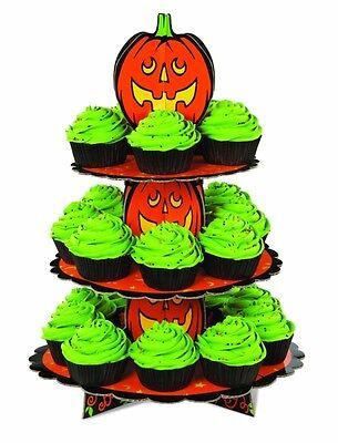 Halloween: Wilton Petit plat à gâteau sur pied en carton 3 étages