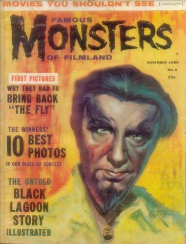 Famous Monsters of Filmland #5 Photocopy REPLICA Magazine