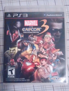 Ps3  Marvel VS. Capcom 3 fate of two worlds