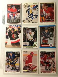 Fantastic Rookie Hockey Card Collection