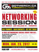 Join us for our FREE Networking Event!!