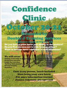 Confidence Clinic **Only One Spot Left**