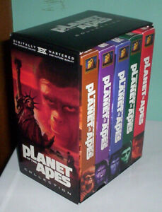 PLANET OF THE APES VHS BOX SET OF FIRST 5 MOVIES
