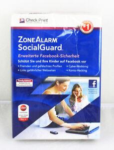 ZoneAlarm Social Guard Software - Erweiterte Facebook Sicherheit    4.3 27016L2