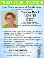 Trust Your Intuition Lectures by Inner Peace Movement of Canada