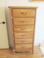 Ideal Furniture - Lingerie Wood Chest of Drawers - NEW City of Montréal Greater Montréal Preview