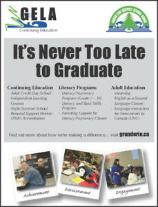 Over 21?  Need Your Ontario Secondary School Diploma?