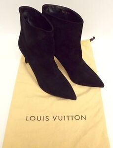 Louis Vuitton Size 8 Black Suede Ankle Boots 38.5 with Dust bag 3 Paddington Eastern Suburbs Preview