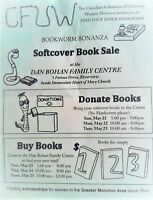 CFUW Moncton Book Sale