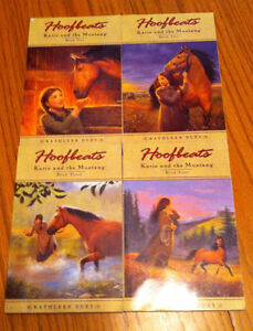 soft cover young adult series HOOFPRINTS books