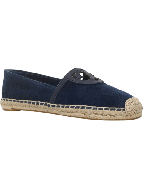287bdaa9742 New Authentic Tory Burch Sidney Navy Suede Espadrilles 7.5 8 ...