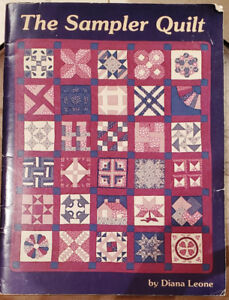 THE SAMPLER QUILT BOOK  by Diana Leone - Pre Owned