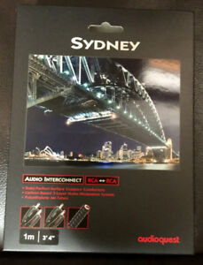 AudioQuest Sydney 1 meter RCA Interconnects (4 pairs)