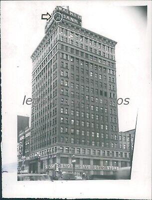 1954 Walker Bank And Trust Co Salt Lake City Utah Original News Service Photo