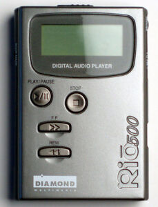 Rio 500 64 MB USB MP3 Player (Gray)