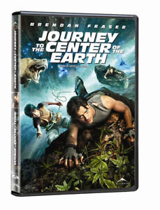 Journey To The Center Of The Earth DVD & 2 pairs of 3-D glasses