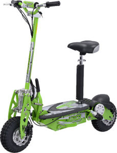 Electric pushing scooter 9'' wheel